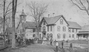 Photo of Thetford Academy circa. 1900