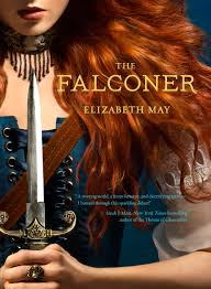 The Falconer by Elizabeth May book cover image