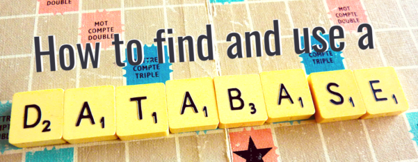 How to find and use databases at Thetford Academy Library